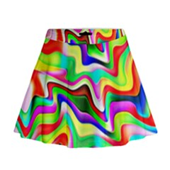 Irritation Colorful Dream Mini Flare Skirt