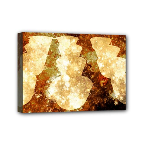 Sparkling Lights Mini Canvas 7  X 5  by yoursparklingshop