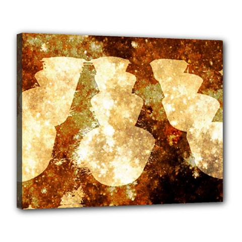 Sparkling Lights Canvas 20  x 16