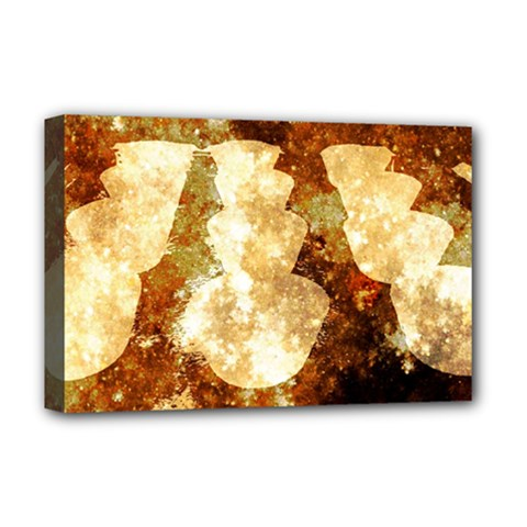 Sparkling Lights Deluxe Canvas 18  X 12   by yoursparklingshop
