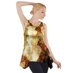 Sparkling Lights Side Drop Tank Tunic