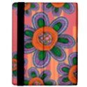 Colorful Floral Dream Samsung Galaxy Tab 10.1  P7500 Flip Case View2
