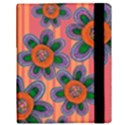 Colorful Floral Dream Samsung Galaxy Tab 10.1  P7500 Flip Case View3