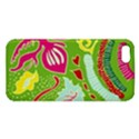 Green Organic Abstract Apple iPhone 5 Premium Hardshell Case View1