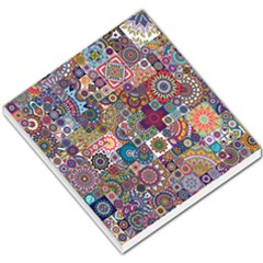 Ornamental Mosaic Background Small Memo Pads by TastefulDesigns