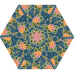 Floral Fantsy Pattern Mini Folding Umbrellas by DanaeStudio