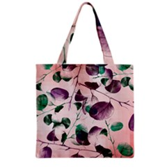 Spiral Eucalyptus Leaves Grocery Tote Bag by DanaeStudio