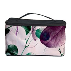 Spiral Eucalyptus Leaves Cosmetic Storage Case by DanaeStudio