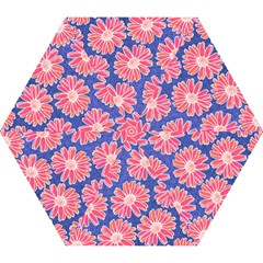 Pink Daisy Pattern Mini Folding Umbrellas by DanaeStudio