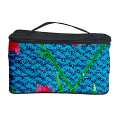 Carnations Cosmetic Storage Case