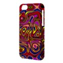 Abstract Shimmering Multicolor Swirly Apple iPhone 5C Hardshell Case View3
