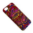 Abstract Shimmering Multicolor Swirly Apple iPhone 5C Hardshell Case View5