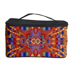 Oriental Watercolor Ornaments Kaleidoscope Mosaic Cosmetic Storage Case