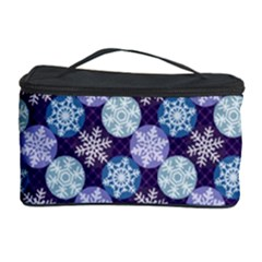 Snowflakes Pattern Cosmetic Storage Case