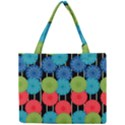 Vibrant Retro Pattern Mini Tote Bag View1
