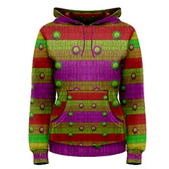 A Wonderful Rainbow And Stars Women s Pullover Hoodie