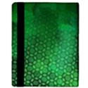 Ombre Green Abstract Forest Apple iPad Mini Flip Case View3