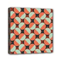 Modernist Geometric Tiles Mini Canvas 6  x 6  View1