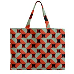 Modernist Geometric Tiles Medium Tote Bag by DanaeStudio