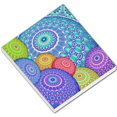India Ornaments Mandala Balls Multicolored Small Memo Pads by EDDArt