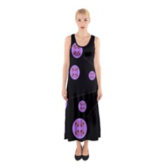 Alphabet Shirtjhjervbret (2)fvgbgnh Sleeveless Maxi Dress