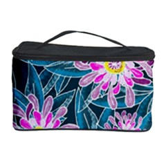 Whimsical Garden Cosmetic Storage Case by DanaeStudio