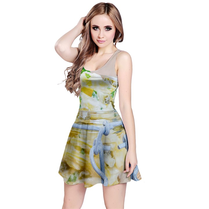 1 Kartoffelsalat Einmachglas 2 Reversible Sleeveless Dress