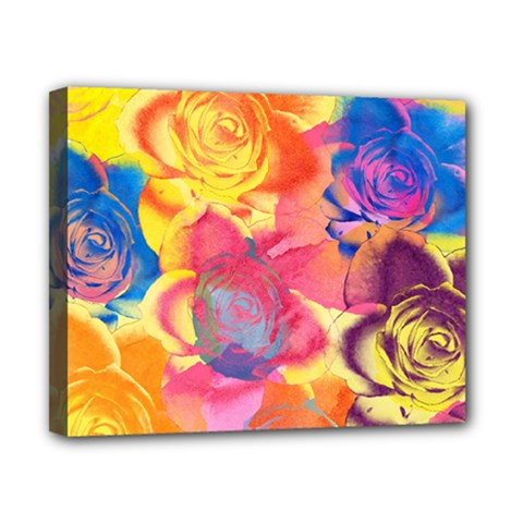 Pop Art Roses Canvas 10  X 8
