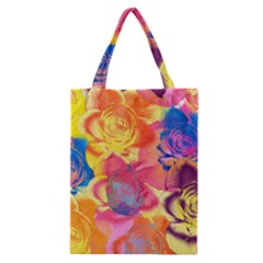 Pop Art Roses Classic Tote Bag