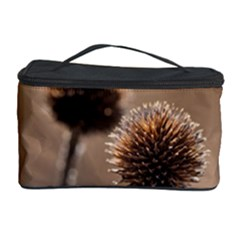 Withered Globe Thistle In Autumn Macro Cosmetic Storage Case by wsfcow
