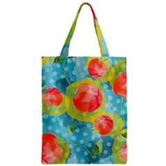 Red Cherries Zipper Classic Tote Bag by DanaeStudio