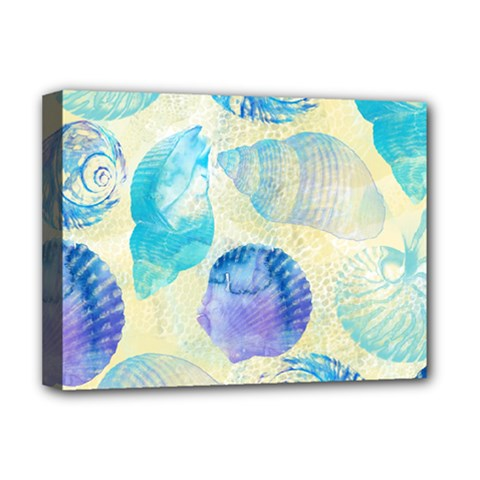 Seashells Deluxe Canvas 16  X 12