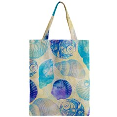 Seashells Zipper Classic Tote Bag by DanaeStudio