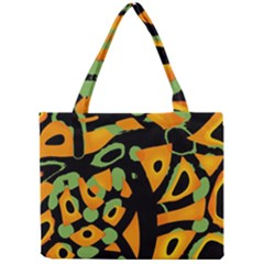 Abstract Animal Print Mini Tote Bag by Valentinaart