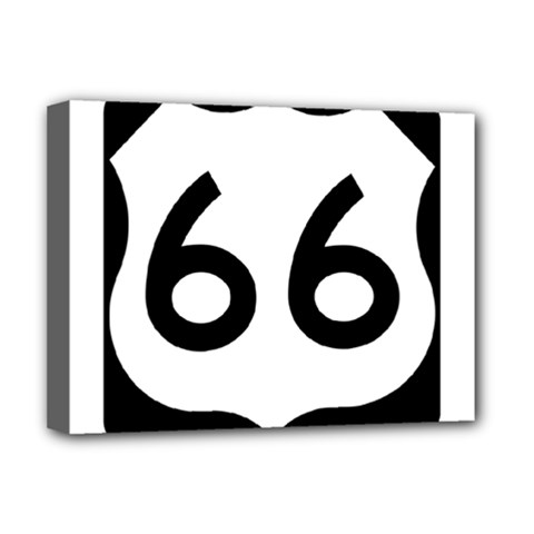 U.S. Route 66 Deluxe Canvas 16  x 12
