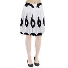 U.S. Route 66 Pleated Skirt
