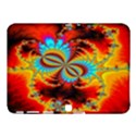Crazy Mandelbrot Fractal Red Yellow Turquoise Samsung Galaxy Tab 4 (10.1 ) Hardshell Case  View1