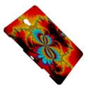 Crazy Mandelbrot Fractal Red Yellow Turquoise Samsung Galaxy Tab S (8.4 ) Hardshell Case  View5