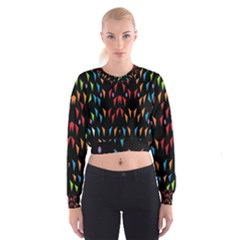 ;; Women s Cropped Sweatshirt