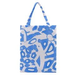 Blue Summer Design Classic Tote Bag by Valentinaart