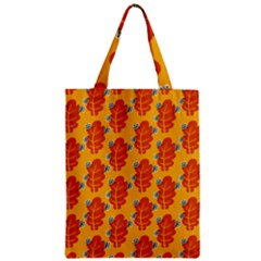 Bugs Eat Autumn Leaf Pattern Classic Tote Bag by CreaturesStore