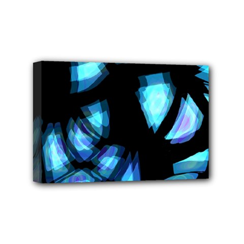 Blue light Mini Canvas 6  x 4