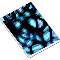 Blue light Large Memo Pads