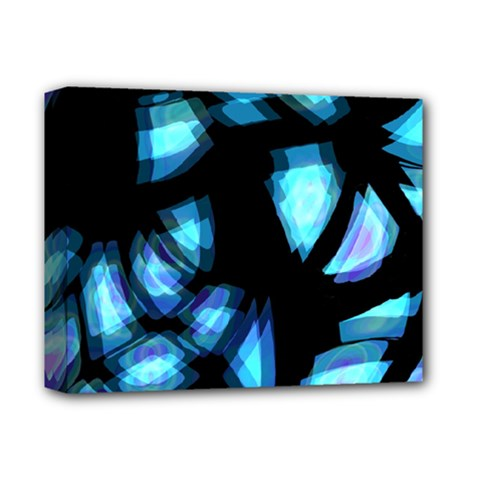 Blue light Deluxe Canvas 14  x 11