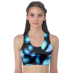 Blue light Sports Bra
