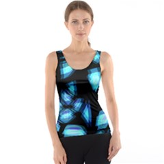 Blue light Tank Top