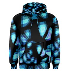 Blue light Men s Pullover Hoodie