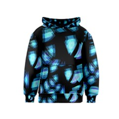 Blue light Kids  Pullover Hoodie