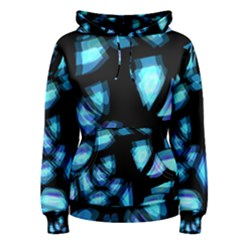 Blue light Women s Pullover Hoodie