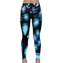 Blue light Yoga Leggings